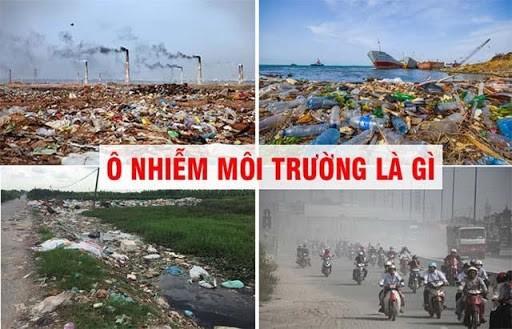 Tình trạng môi trường bị ô nhiễm hiện nay