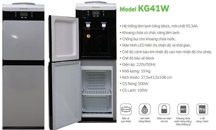 Cây nước nóng lạnh Kangaroo - KG41W