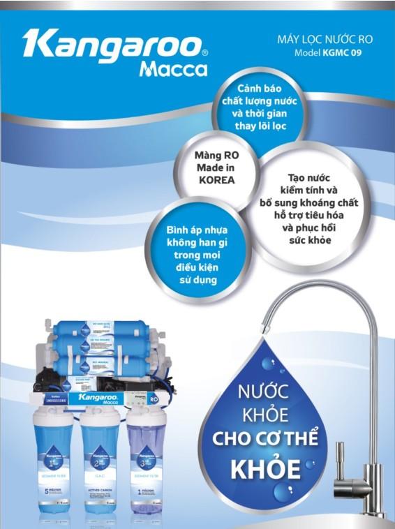 Máy lọc nước Kangaroo Macca KGMC09 - KV