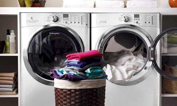 Máy giặt thông minh sấy quần áo