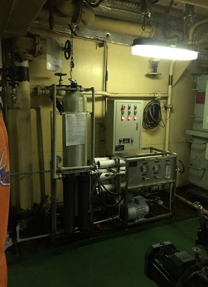 Tàu Lan Hạ (công suất 500L/h)