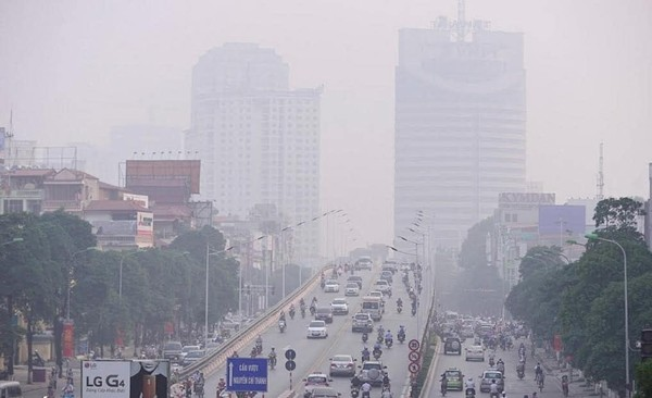 Ô nhiễm không khí làm cho cấu trúc khí trở nên xấu hơn