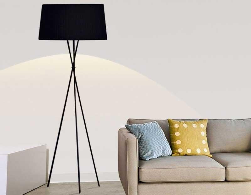 Đèn cây phòng khách giá rẻ - Đèn cây đứng trang trí phòng khách đẹp
