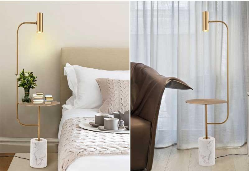 Đèn cây phòng ngủ giá rẻ - Đèn cây trang trí phòng ngủ hiện đại