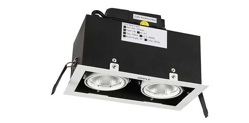đèn âm trần vuông Opple SP26