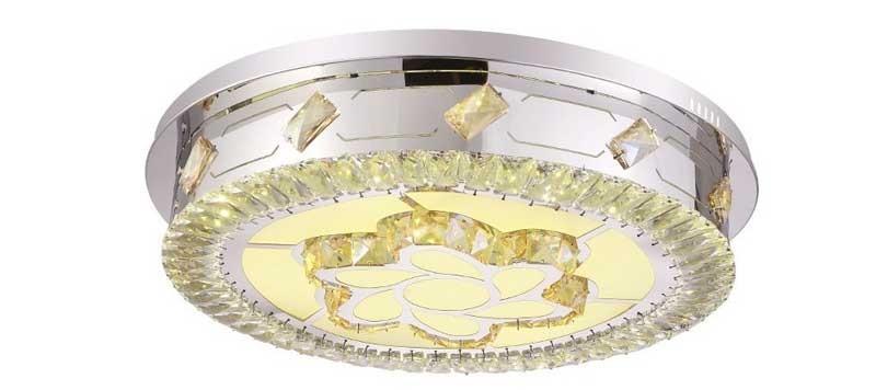 Đèn ốp trần tròn pha lê HTM-07