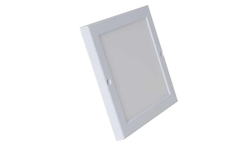 Đèn vuông ốp trần 36W ON chế độ màu sắc ánh sáng vàng