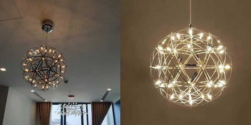 Đèn bàn ăn hiện đại D30 - Đèn LED thả trần bàn ăn D30