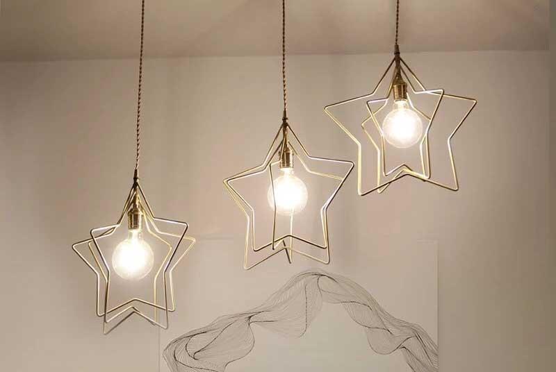 Đèn thả trần phòng khách hiện đại Like Star - Đèn thả phòng khách hiện đại Like Star