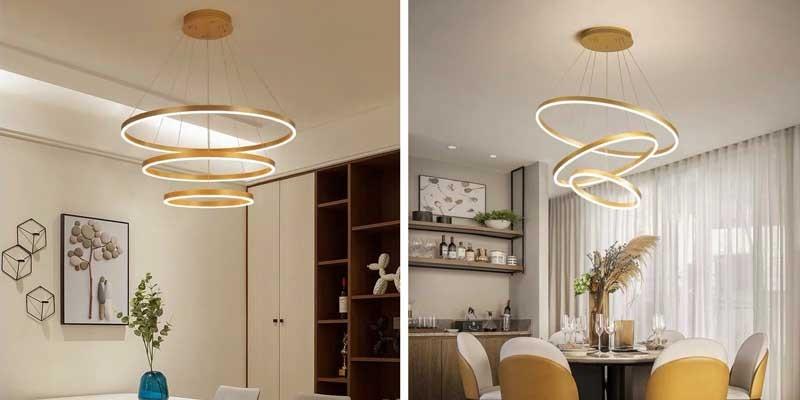 Đèn thả phòng ngủ LED HTDT-25 - Đèn LED thả trần phòng ngủ HTDT-25