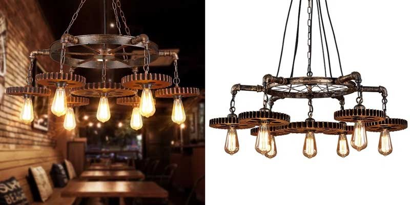 Đèn thả trần trang trí quán cafe, đèn thả quầy bar