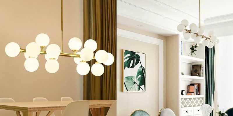 Đèn thả phòng ngủ đơn giản HTDT-14 - Đèn thả trang trí phòng ngủ cao cấp HTDT-14