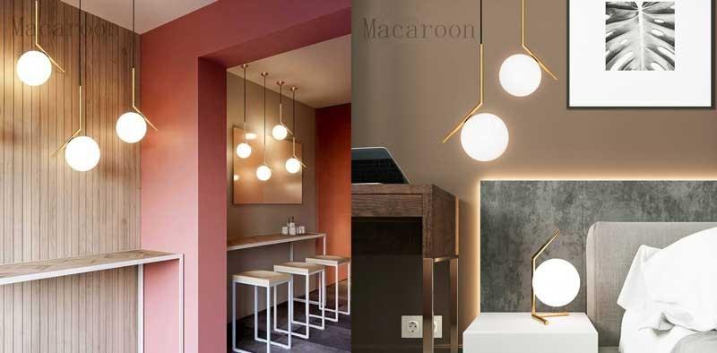 Đèn thả phòng ngủ đơn giản HTDT-09 - Đèn treo trần trang trí phòng ngủHTDT-09