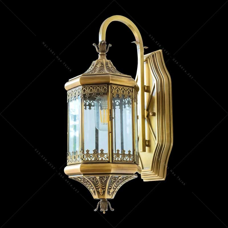 Đèn tường cổ điển ngoại thất