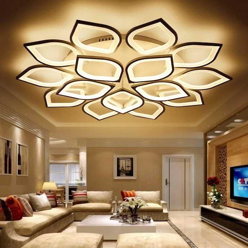 Đèn ốp trần trang trí phòng khách
