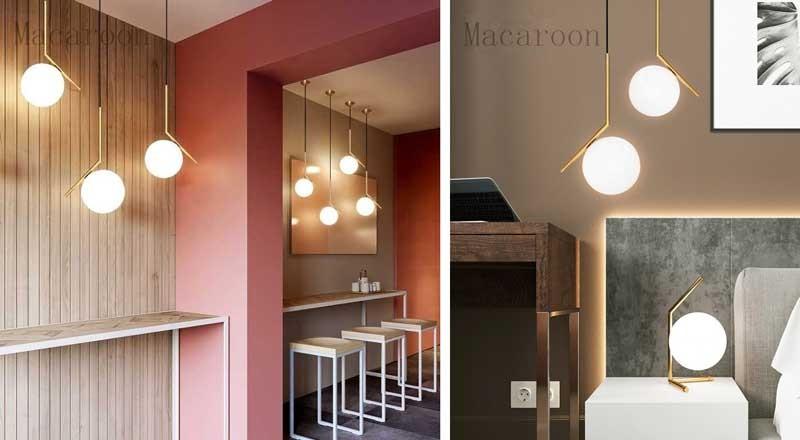 Đèn trần phòng khách chung cư HTDT-09- Đèn trang trí phòng khách chung cư