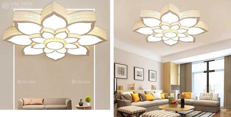 Đèn trang trí chung cư - Đèn trang trí phòng khách chung cư