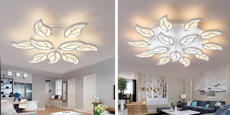 Đèn trần phòng khách chung cư - Đèn trang trí phòng khách chung cư
