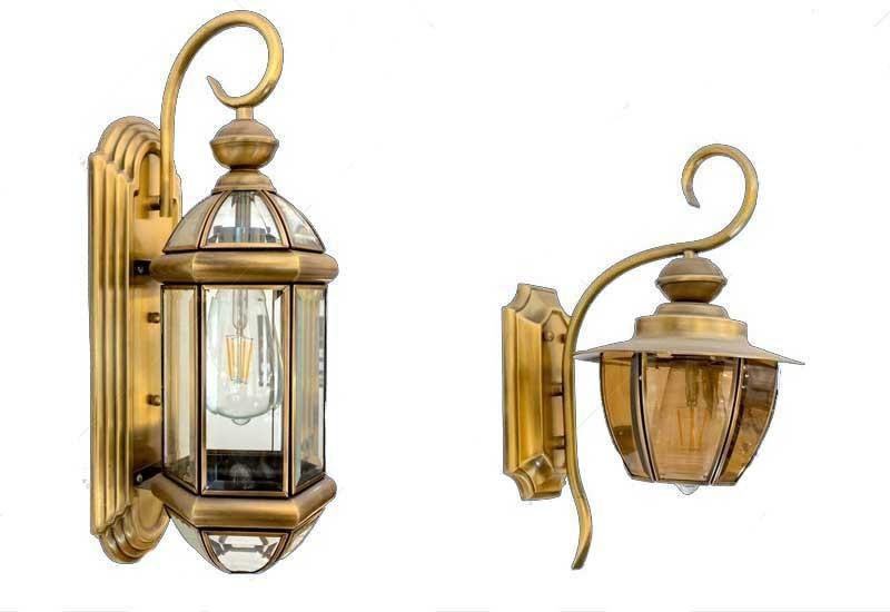 Đèn treo tường ngoại thất, đèn trang trí tường, đèn ốp tường
