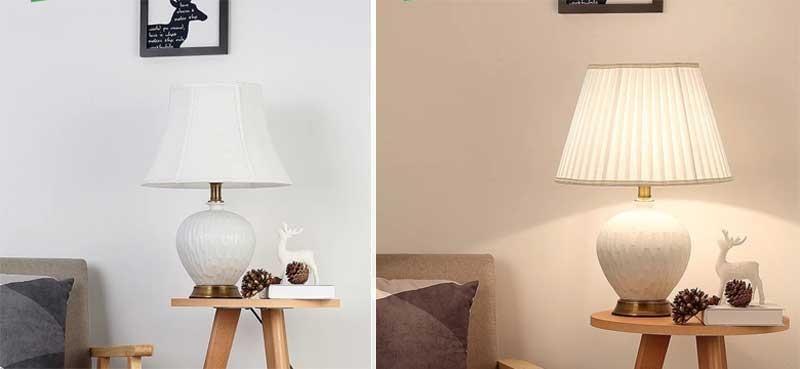 Đèn LED trang trí bàn decor HT18