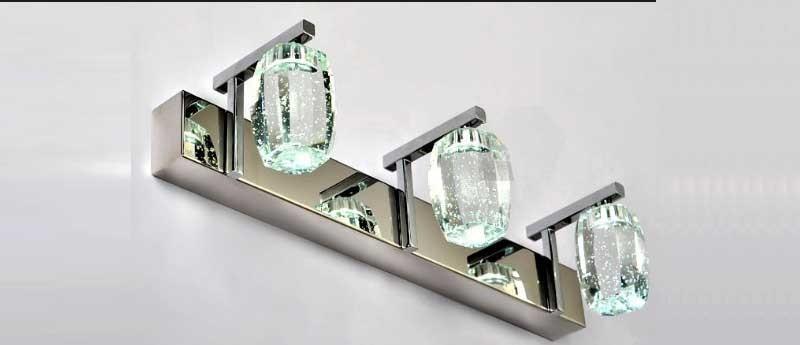 đèn gương pha lê