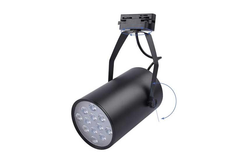 Đèn rọi ray TLED320A 12W NVC - Đèn rọi 12w thanh ray - Đèn LED thanh ray 12w