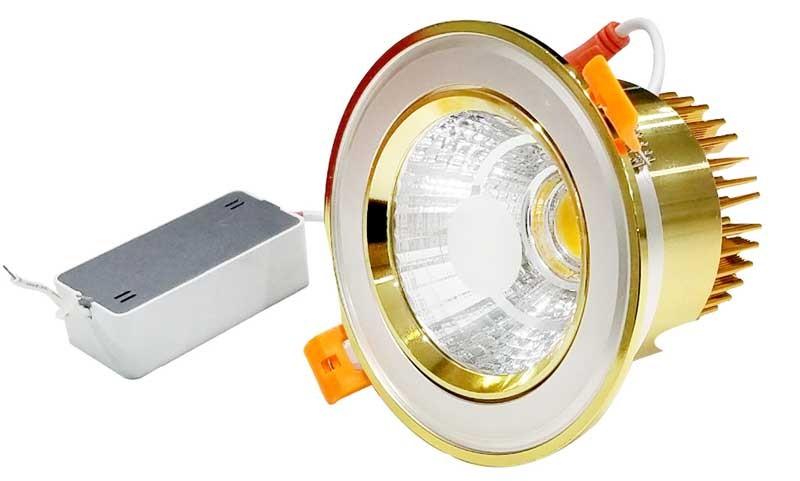 Giá đèn led âm trần 7w 3 màu