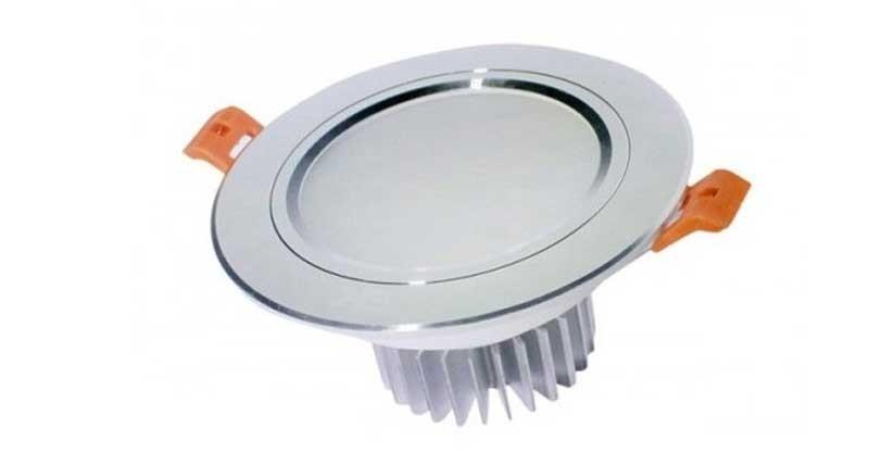 Đèn LED âm trần 9W siêu mỏng Athaco - Đèn LED âm trần 3 màu 9w Athaco