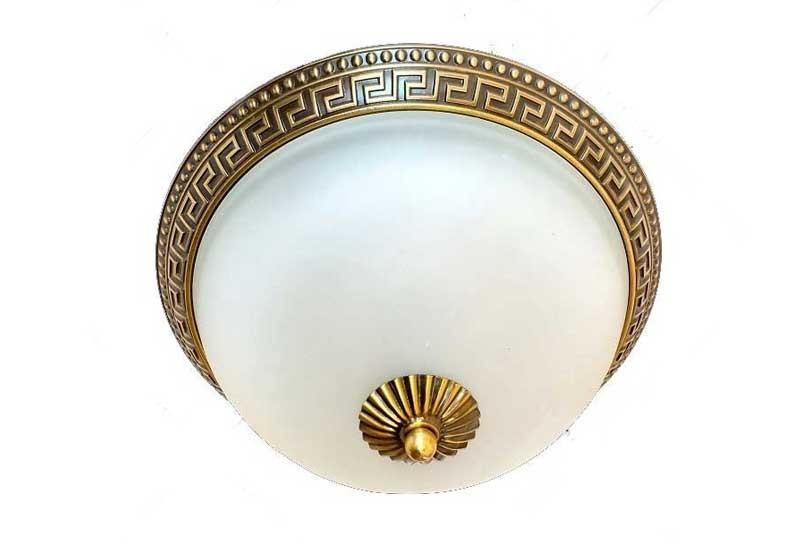 Đèn ốp trần trònsiêu sáng - Đèn LED ốp trần tròn đồng 24W HTML-C7101 Ø300mm