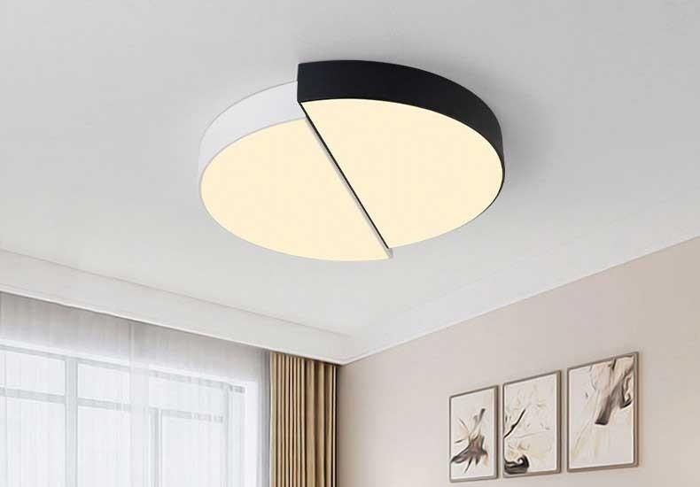 Đèn LED tròn ốp trần siêu sáng - Đèn áp trần tròn bóng LED HT-44 82W