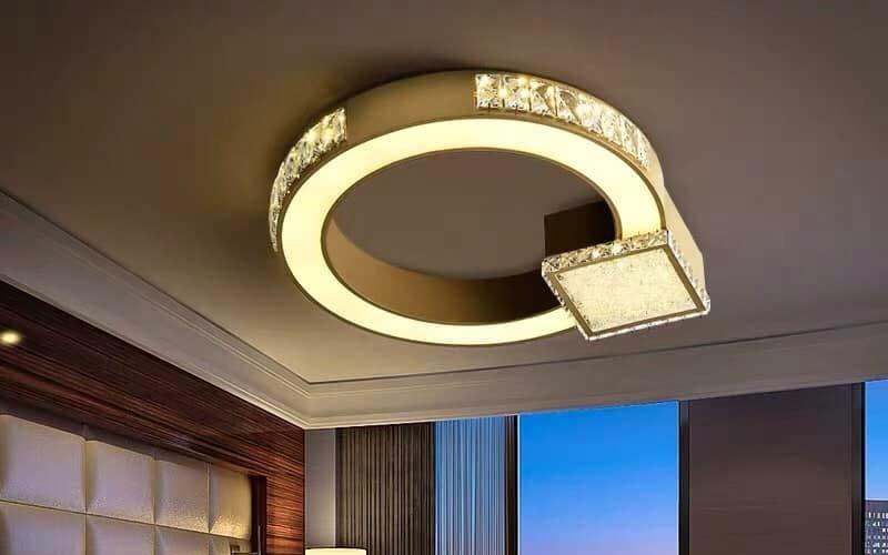 Đèn LED tròn ốp trần - Đèn LED ốp trần tròn HTM-55