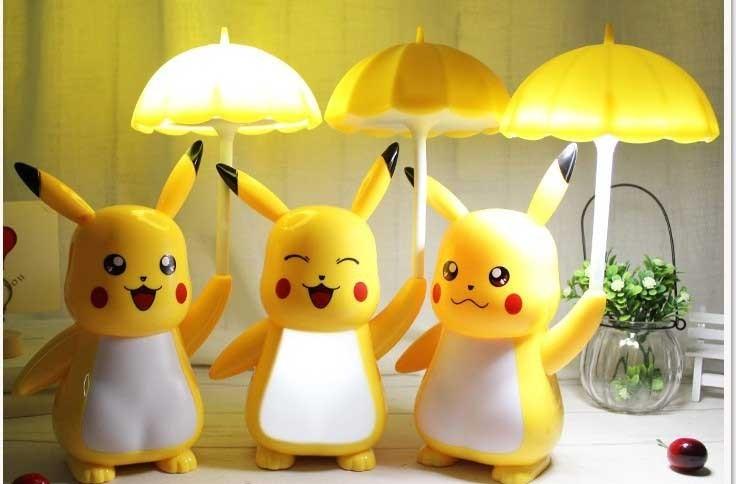 Đèn ngủ mini nhỏ hình nhân vật Pikachu