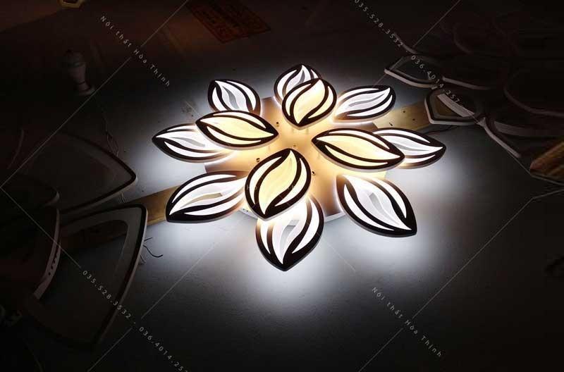 Mẫu đèn ốp trần ban công đẹp - Đèn LED ốp trần ban công cao cấp HTM-46
