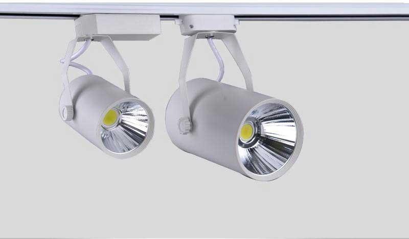 Đèn rọi ray 12W RR-COB-12 - Đèn ray 12w - Đèn LED thanh ray 12w RR-COB-12