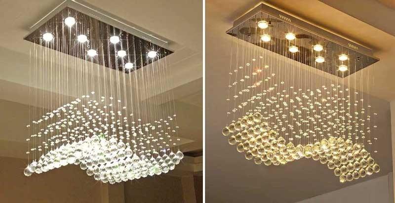 Đèn LED thả trần văn phòng - Đèn treo văn phòng thả thông tầng