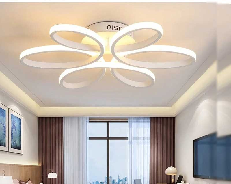 Mẫu đèn trần phòng khách hiện đại - Mẫu đèn ốp trần phòng khách hiện đại giá rẻ