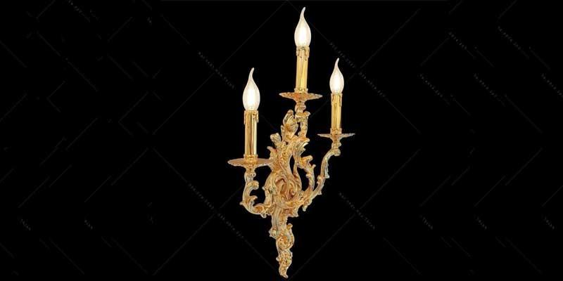 bóng đèn trang trí cột nhà