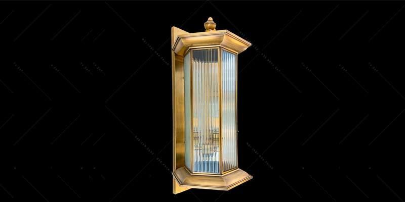 đèn treo cột nhà