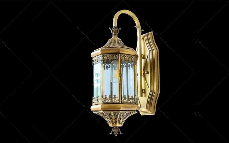 đèn trang trí đầu cột