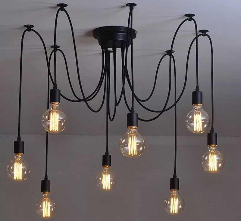 mẫu đèn trang trí quán cafe