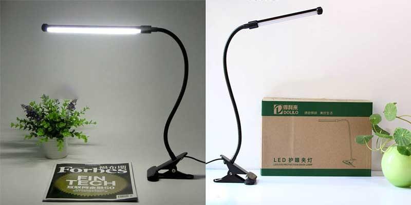 Đèn LED kẹp bàn học sinh - Đèn học LED kẹp bàn - Đèn kẹp bàn led
