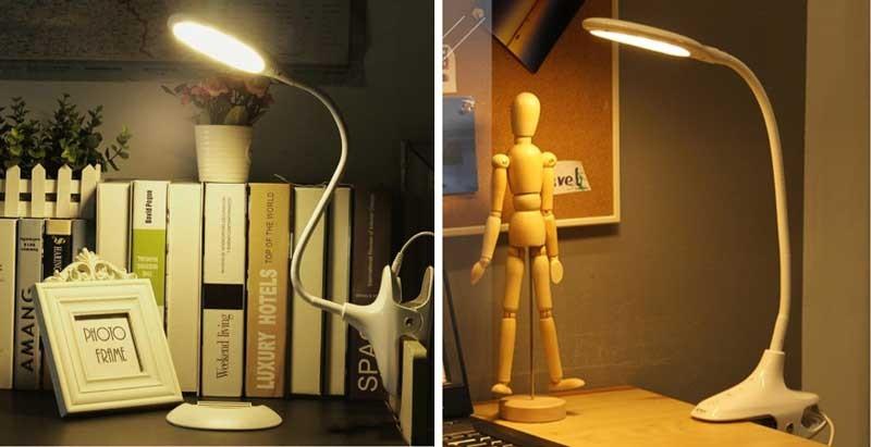 Đèn kẹp bàn học sinh Model S059 - Đèn học sinh kẹp bàn