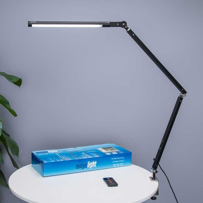 Đèn bàn kẹp,đèn led kẹp bàn