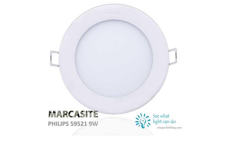 Đèn LED Downlight âm trần 9W Phiips Marcasite -Đèn LED âm trần Philips 9w siêu sáng