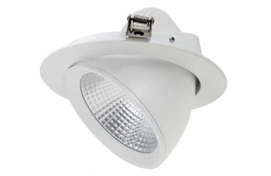 Đèn downlight âm trần 9w - Đèn LED âm trần 9W xoay Nerhor