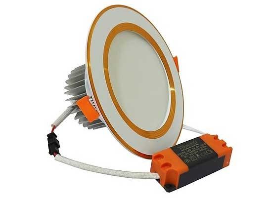 Đèn LED âm trần 9W 3 màu TOMOKI - Đèn LED siêu mỏng 9w âm trần TOMOKI