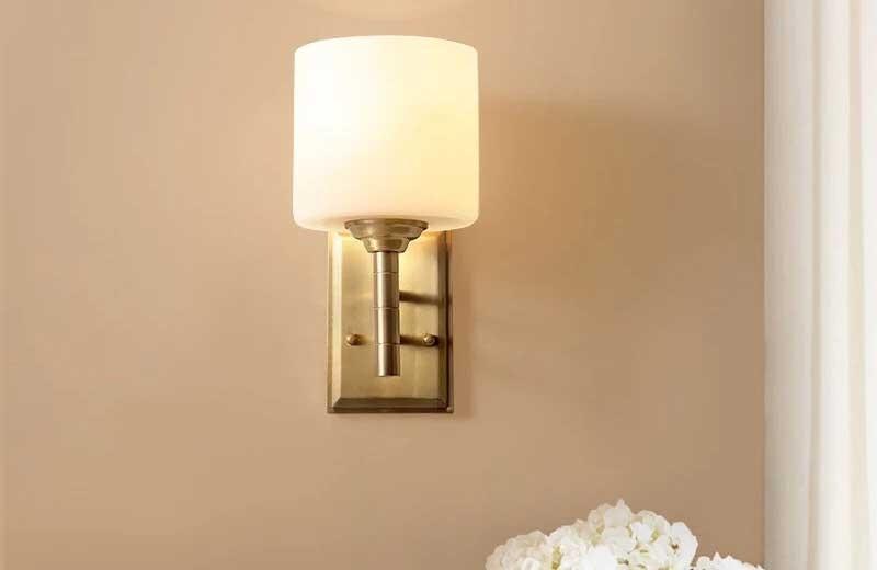 Đèn ngủ cắm ổ điện trụ tròn - Đèn phòng ngủ cắm ổ điện trụ tròn