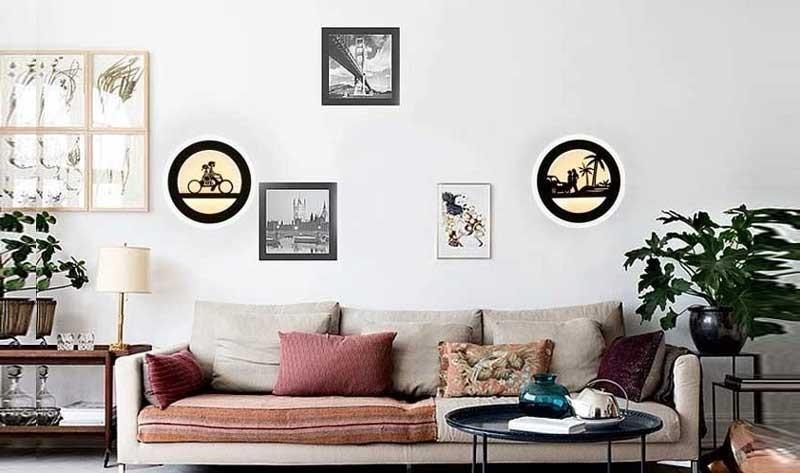 Đèn ngủ treo tường mini acrylic - Đèn ngủ LED treo tường miniacrylic