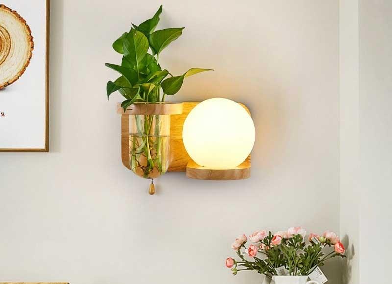 đèn ngủ treo tường mini đơn giản cho bé