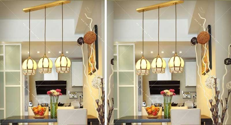 đèn trần phòng bếp